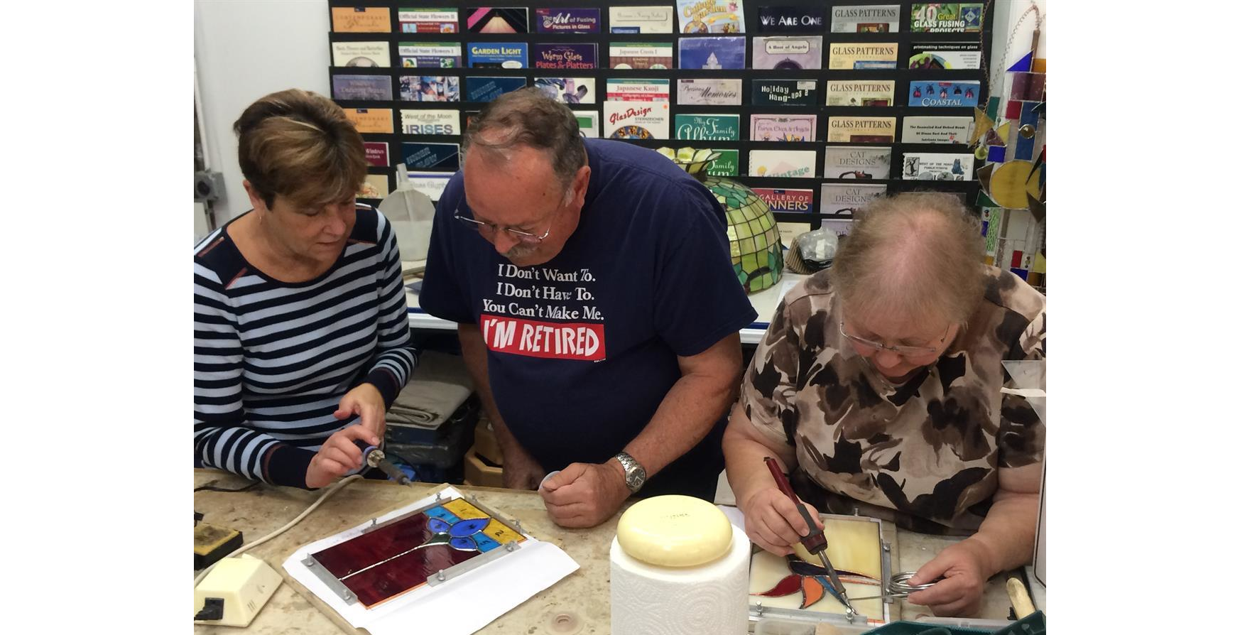 Beginner's Stained Glass Class